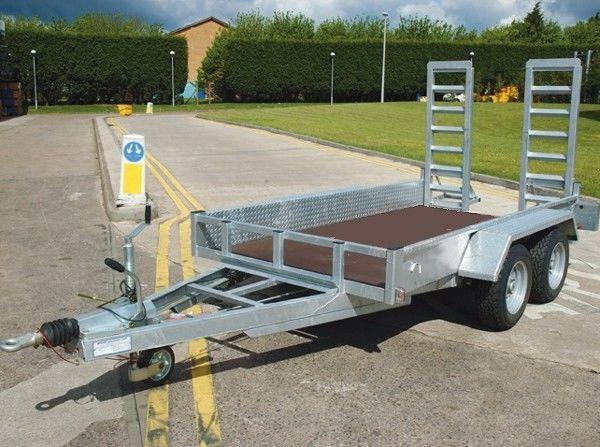 HCT AD2500 low loader trailer