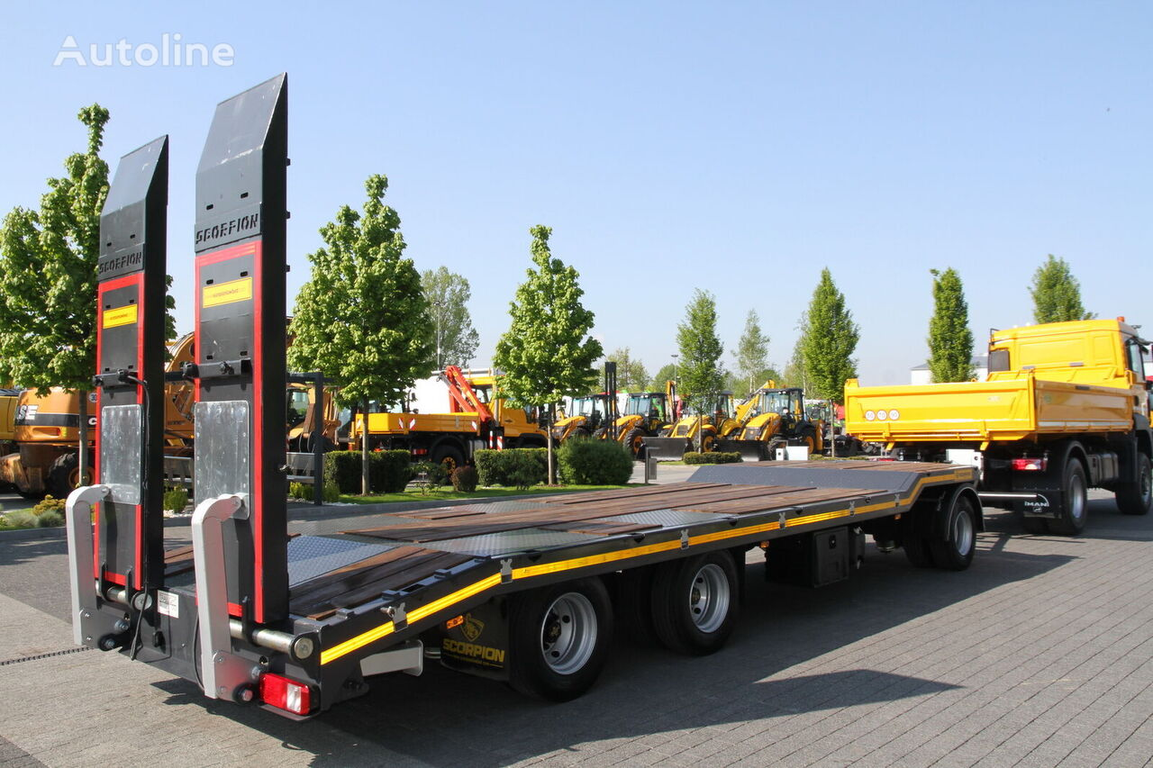 LOW LOADER TRAILER SCORPION NEW NOT USED 2019 low loader trailer