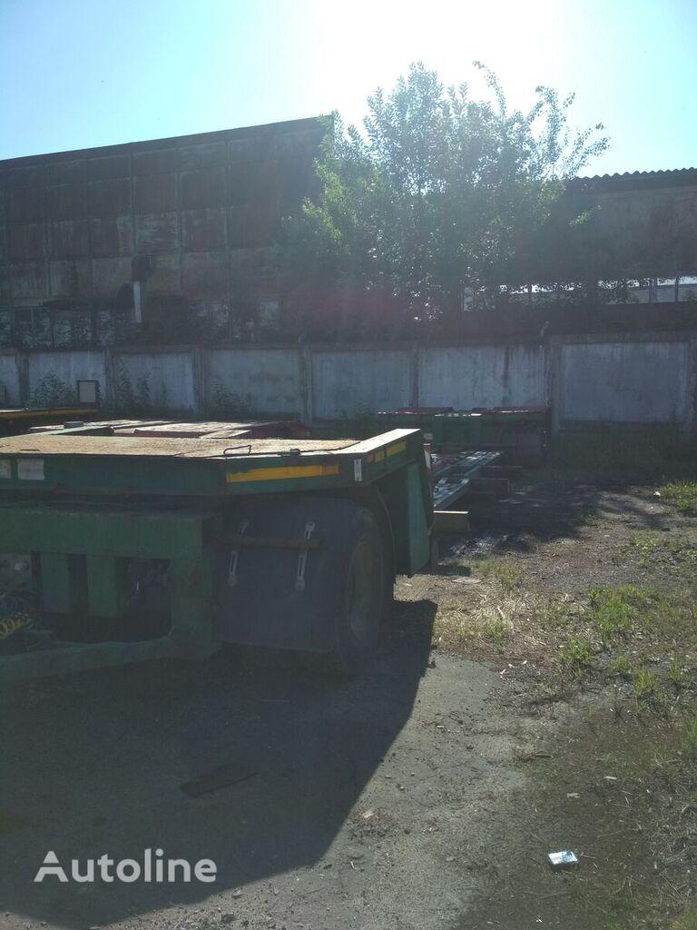 RECKER JTA 24 low loader trailer