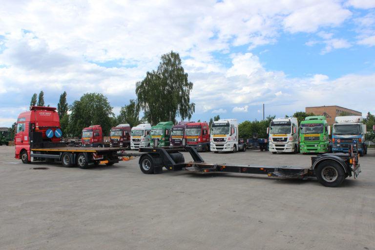 TAD PNR 15 low loader trailer
