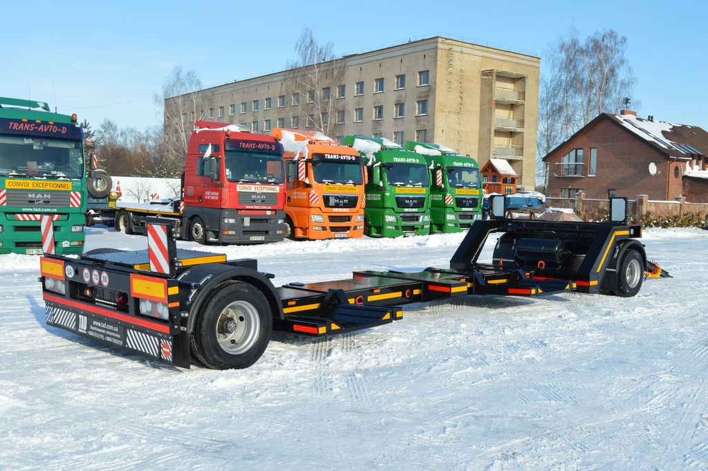 new TAD Trailer 18-2 low loader trailer