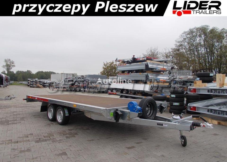 new TEMARED TM-198 przyczepa 454x216cm, Carplatform 4521S laweta, pl low loader trailer