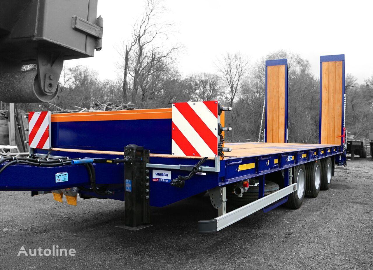 new ZRUST ZPT 31 low loader trailer