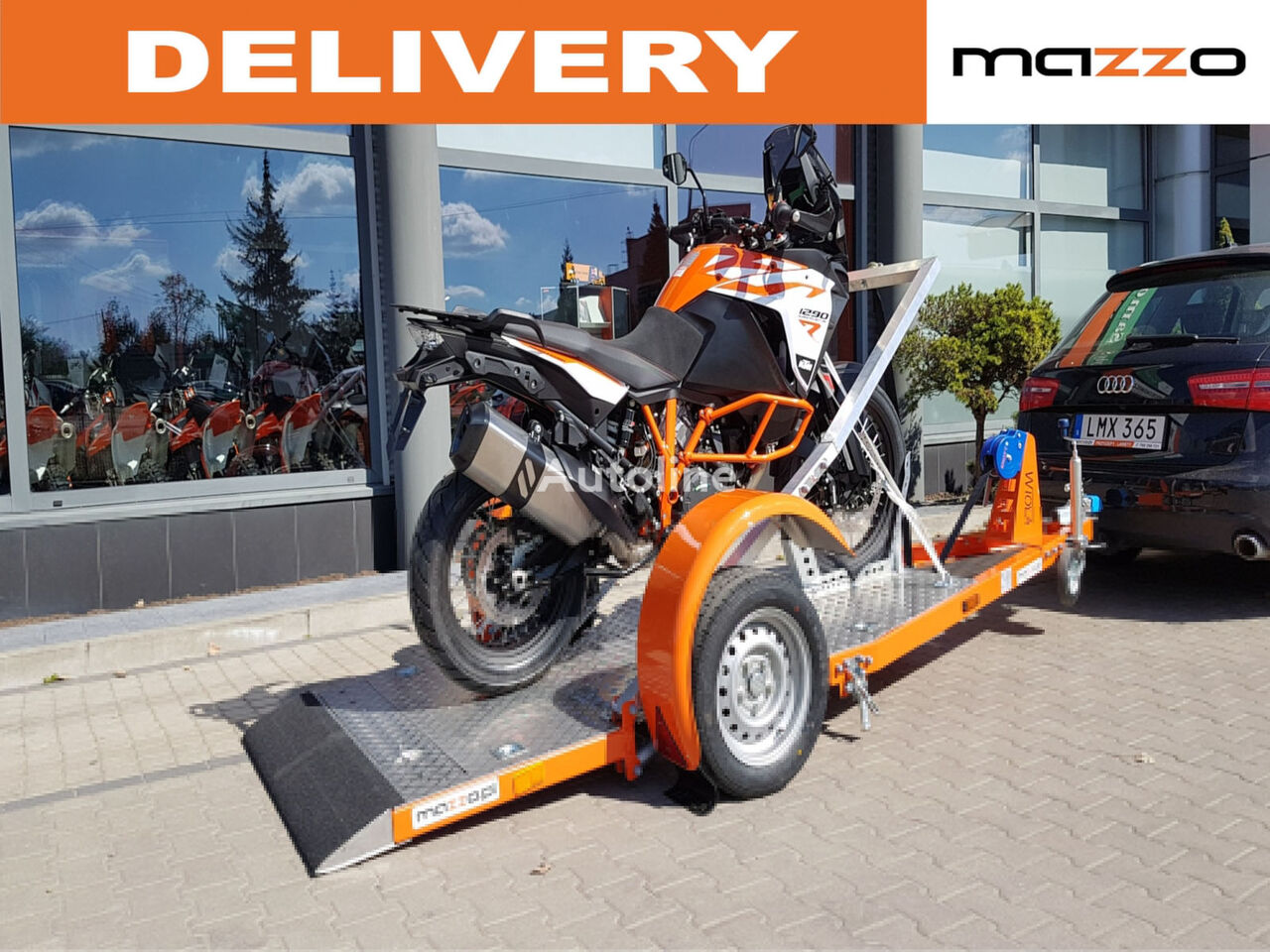 new ENDURO 1 Motorcycle trailer motorcycle trailer