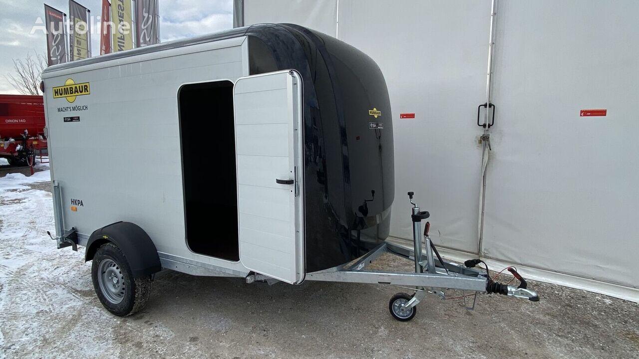 new HUMBAUR motorcycle trailer