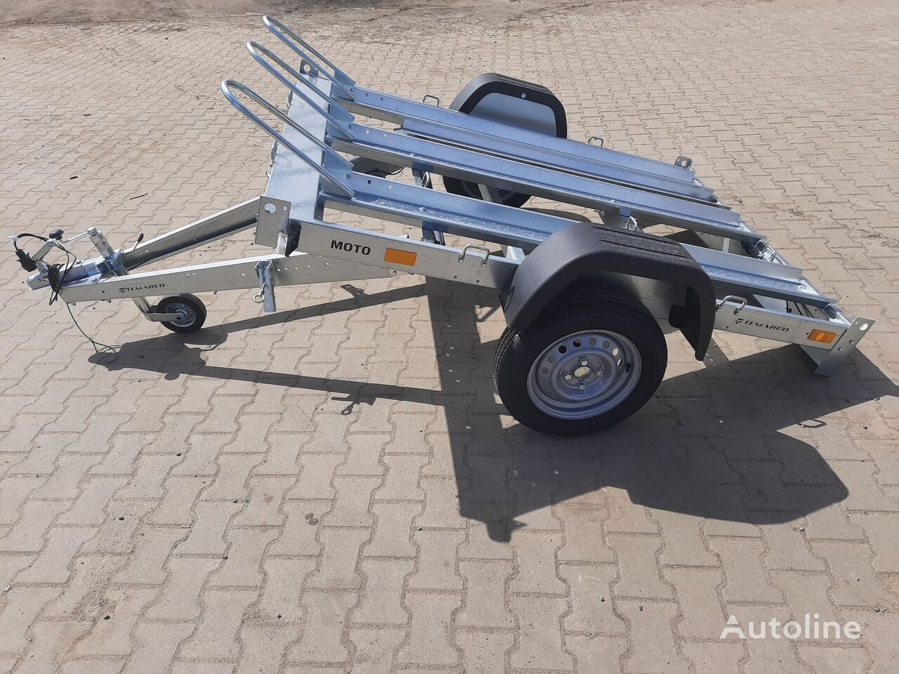 new MOTO 3 trailer for motorcycle 750kg  motorcycle trailer