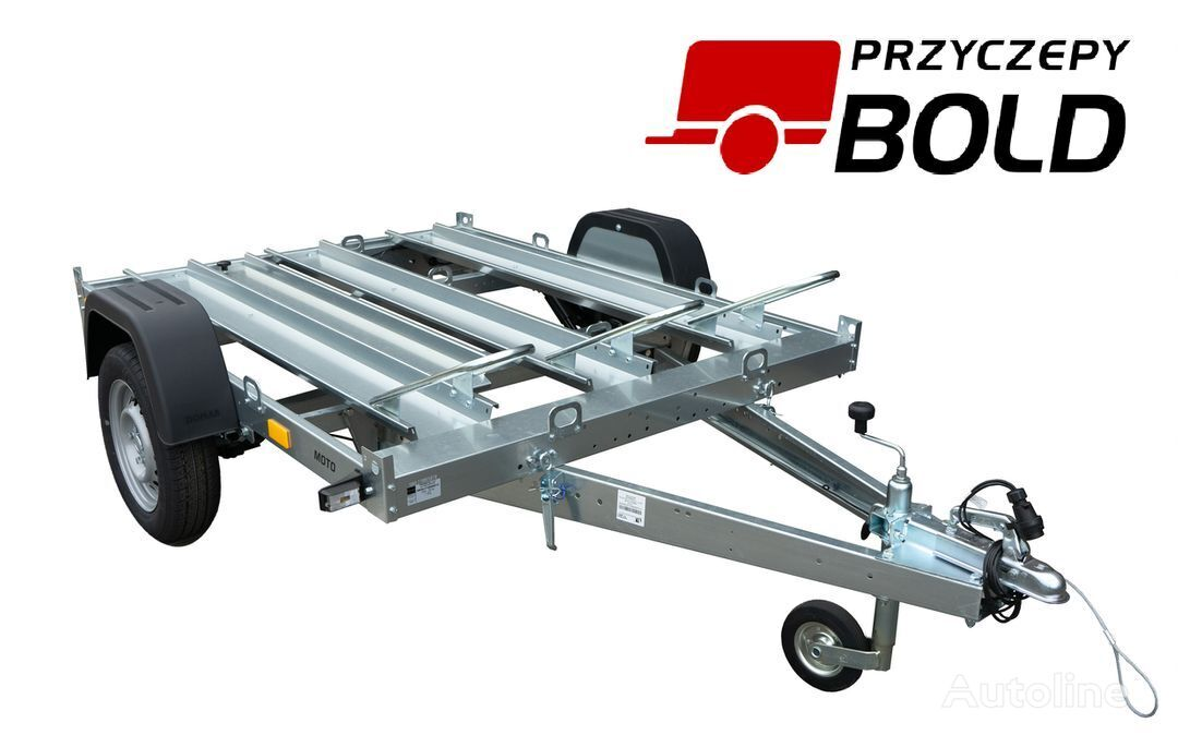 new TEMARED MOTO 3 motorcycle trailer