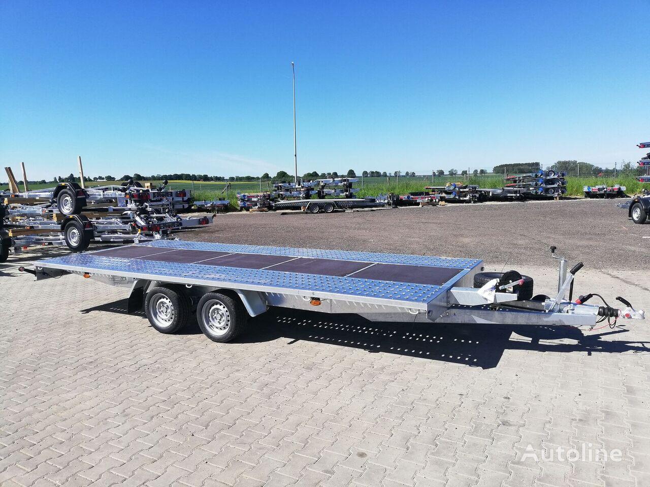 new M5030 500x210 3000kg R13C platform with wood platform trailer