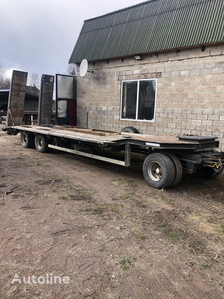 BLUMHARDT L16-84Z platform trailer