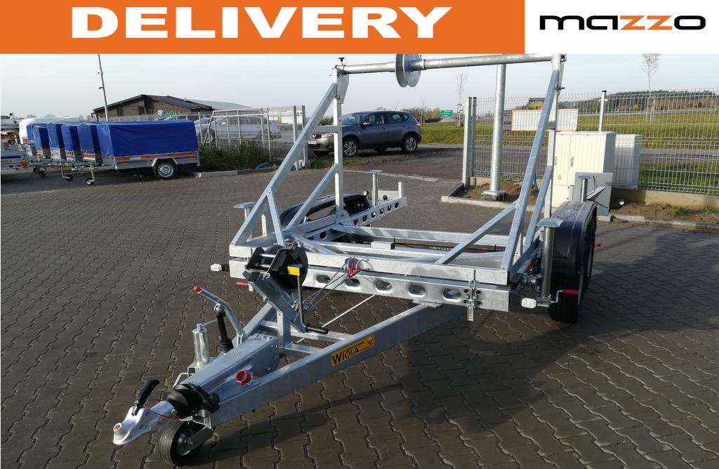 new Cabel drum trailer up to 3500kg platform trailer