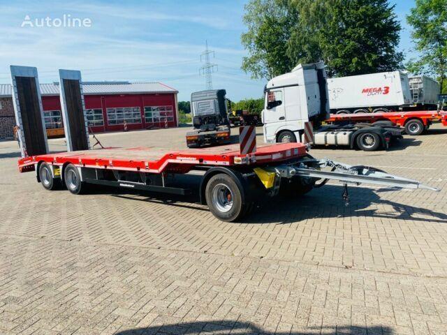 new KASSBOHRER 3-Achs- Tiefladeanhänger mit Gekröpftem Plateau platform trailer