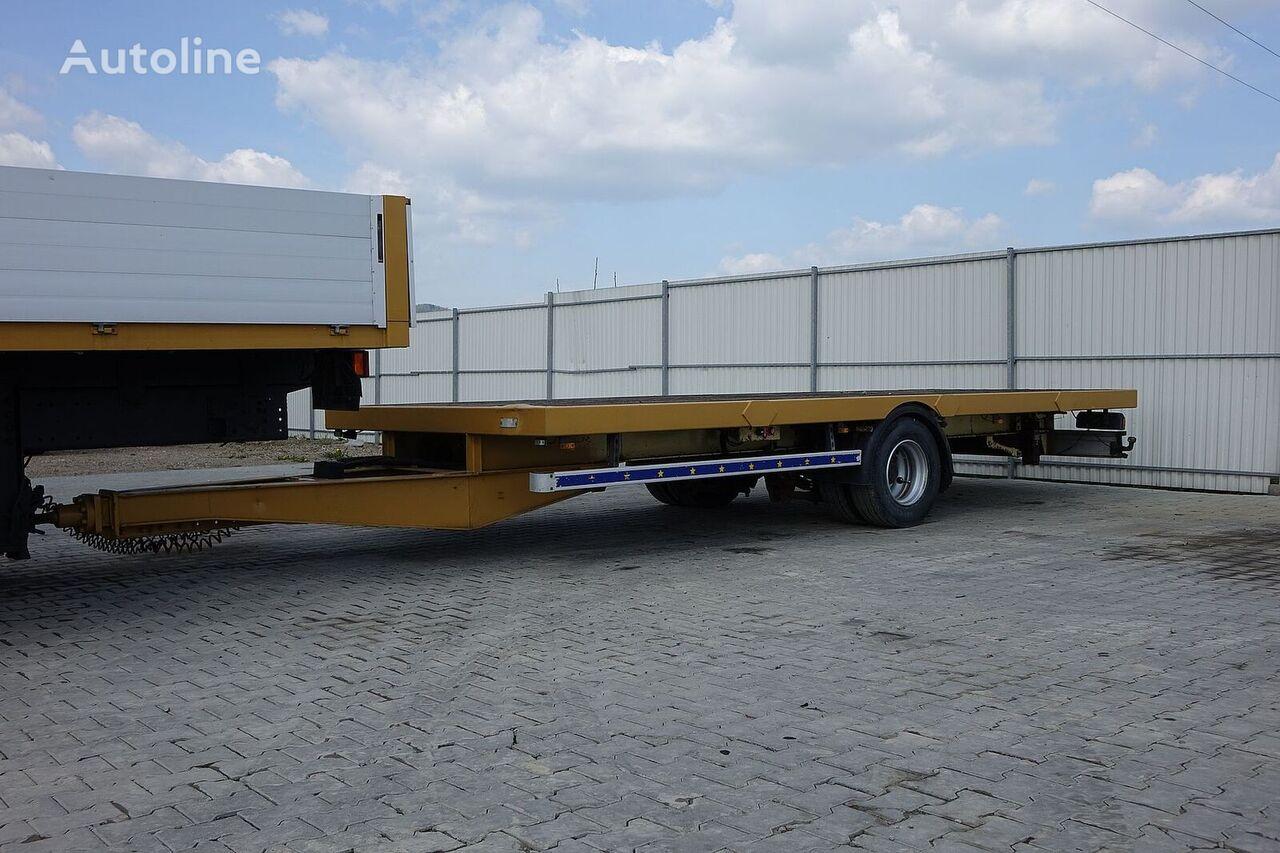 TRAX T111WOR  platform trailer