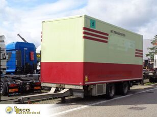 FLIEGL TPS 180 + 2 Axle + TRS Cooling + Dhollandia Lift refrigerated trailer