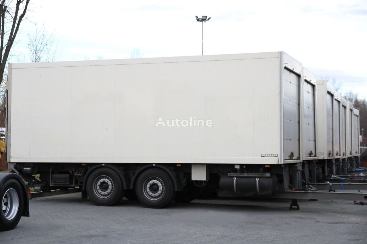 ROHR REFRIGERATOR JUMBO TRAILER AGGREGATE 10 UNITS! refrigerated trailer