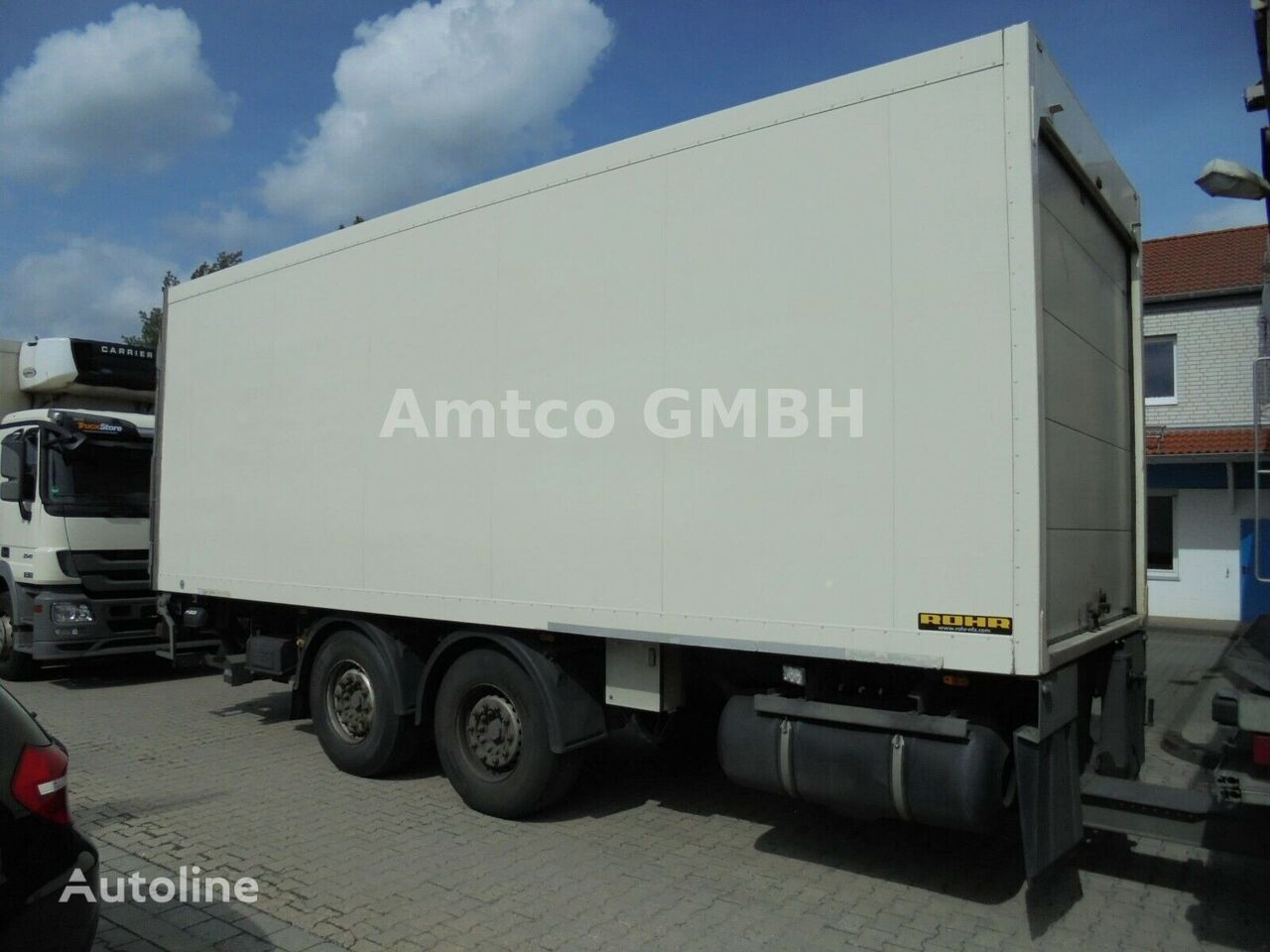 ROHR Tandem 2010 German 6 Units refrigerated trailer