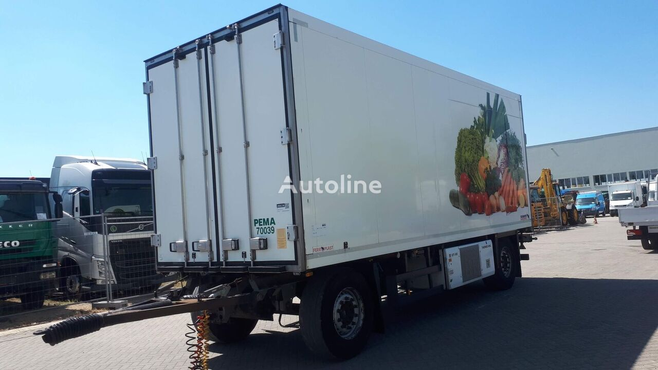 SCHMITZ CARGOBULL AKO18  German brief refrigerated trailer