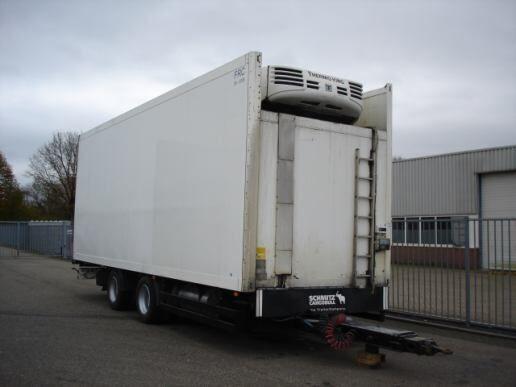 SCHMITZ Schmitz Cargobull 2 AXLE TRAILER - FRIGOBOX -THERMOKING TS-500 refrigerated trailer