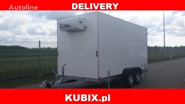 new TFI 370T.00, CARGO THERM, PRZYCZEPA IZOTERMA, 3,7x1,8x2 DMC2000k refrigerated trailer