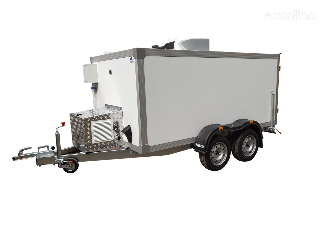 new ISTOK 3792T2 refrigerated trailer