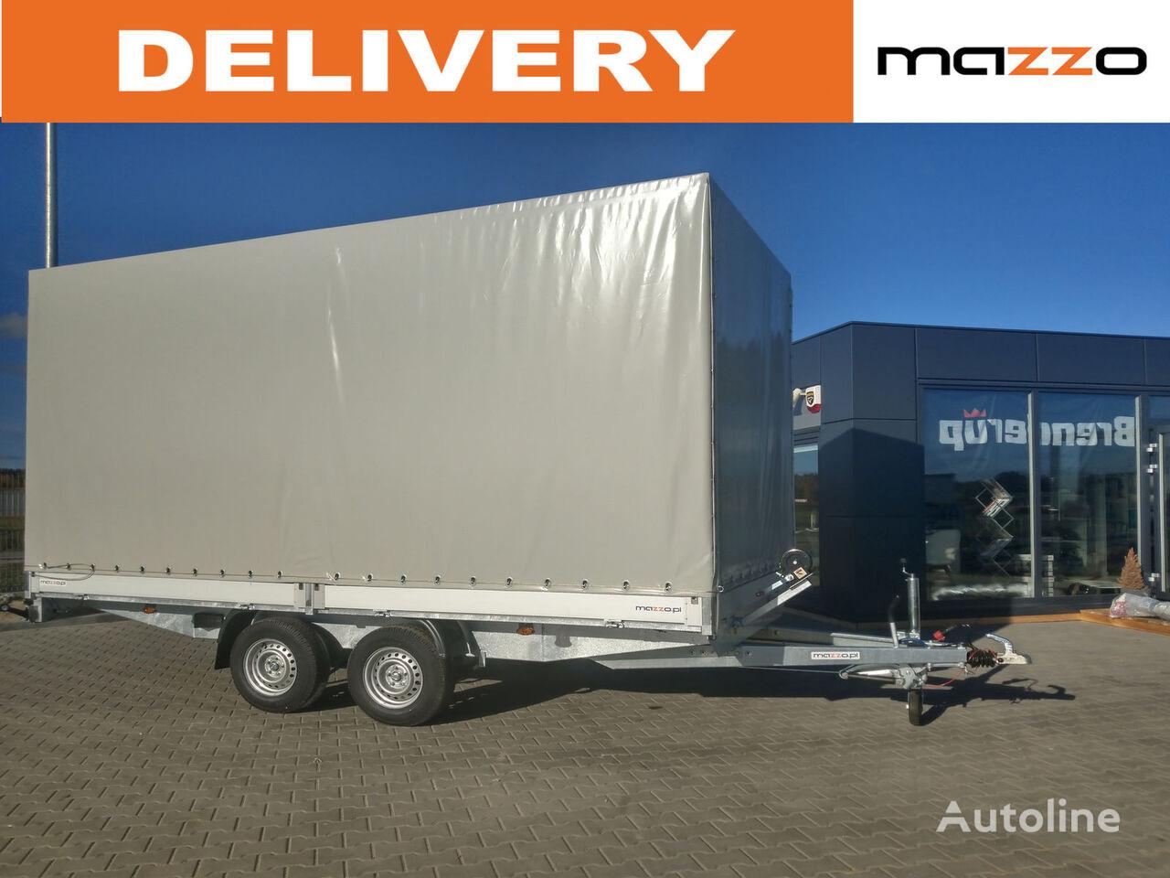 new Freight / Forwarding Tarpaulin 500x210x200cm 3500kg GVW tilt trailer