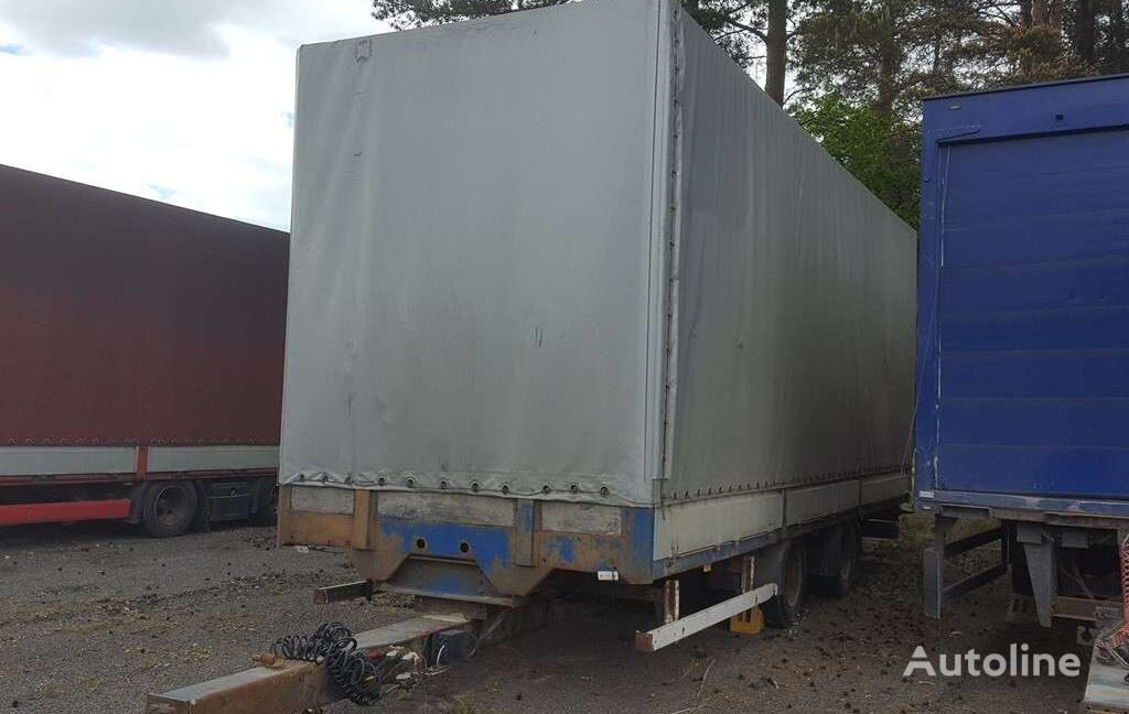 KRONE ZZF18 tilt trailer