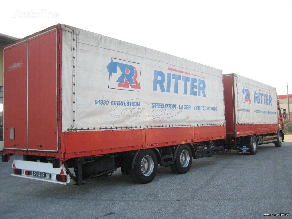 KRONE ZZP 18 '96 tilt trailer