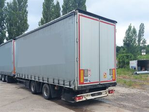 SCHMITZ CARGOBULL ZCS 18 V,průjezdný,shrnovačka tilt trailer