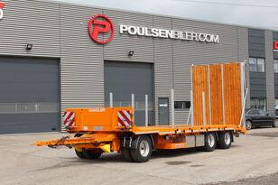 new HANGLER 4,2m heldækkende rampe timber trailer