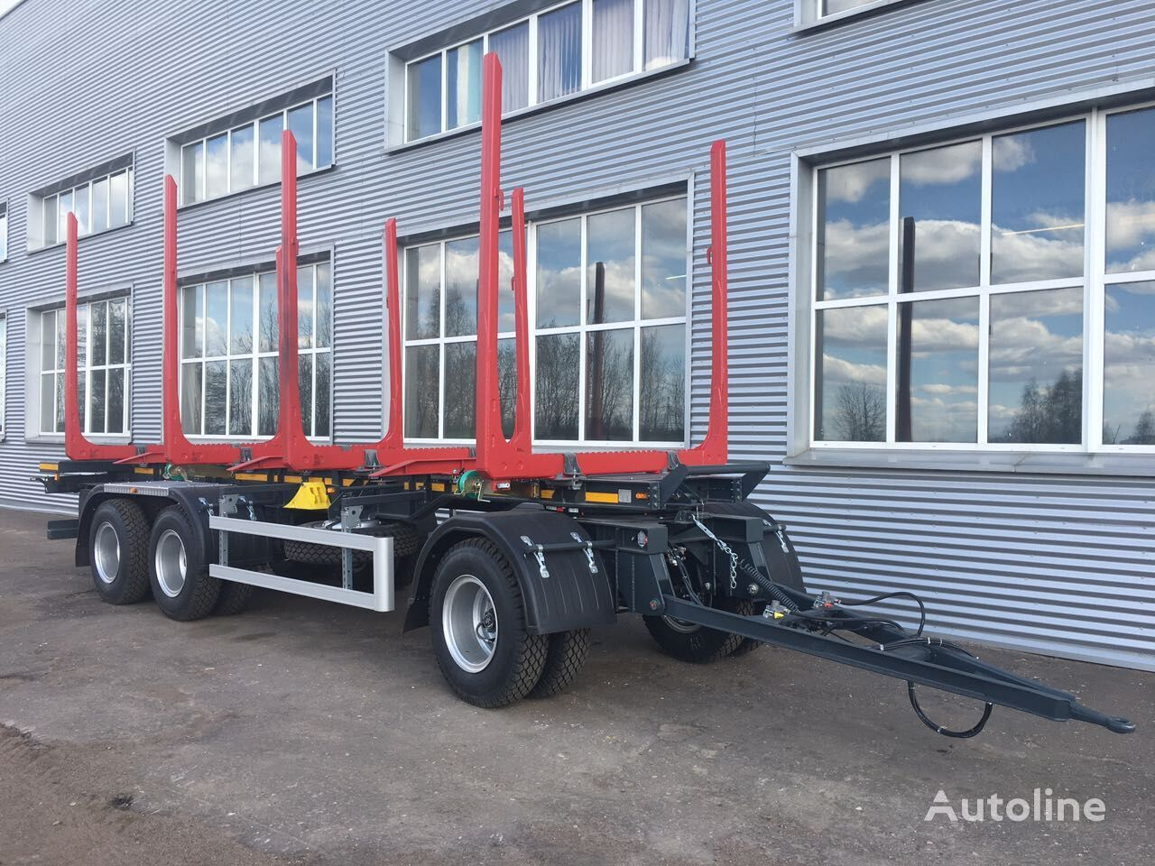 new APS 853230 timber trailer