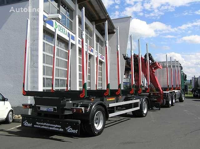new EBERT KHA 18  timber trailer