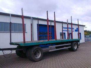 FAYMONVILLE KHA-PL2-B Kurzholz timber trailer