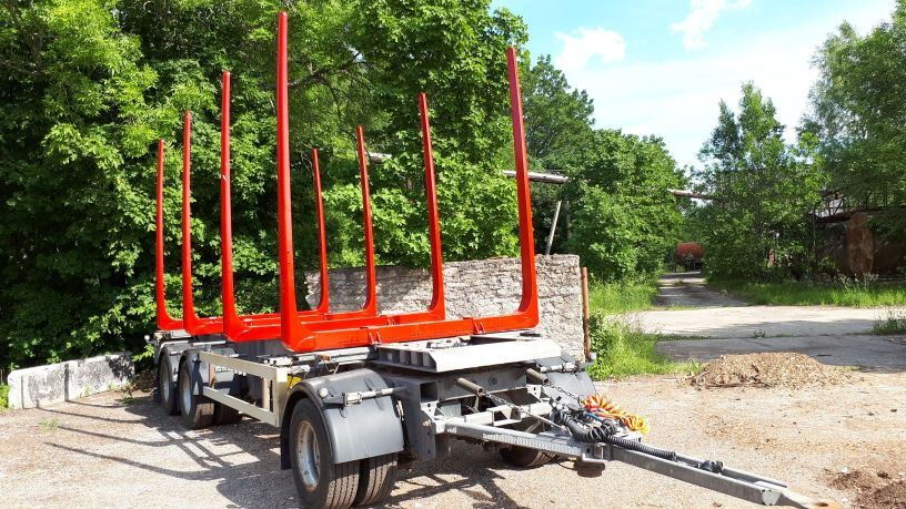 HFR timber trailer + new bunks and tyres timber trailer
