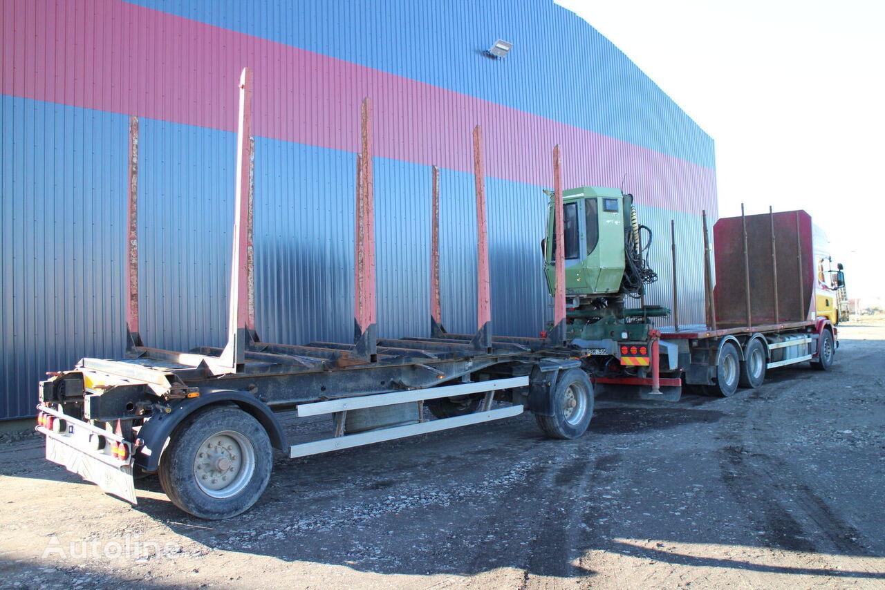 KRONE AZW 18 timber trailer