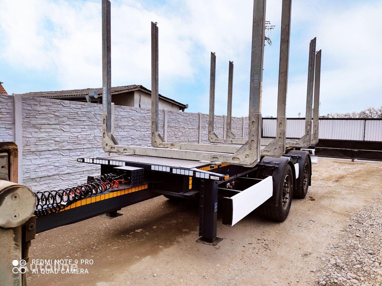 KRONE Zz timber trailer