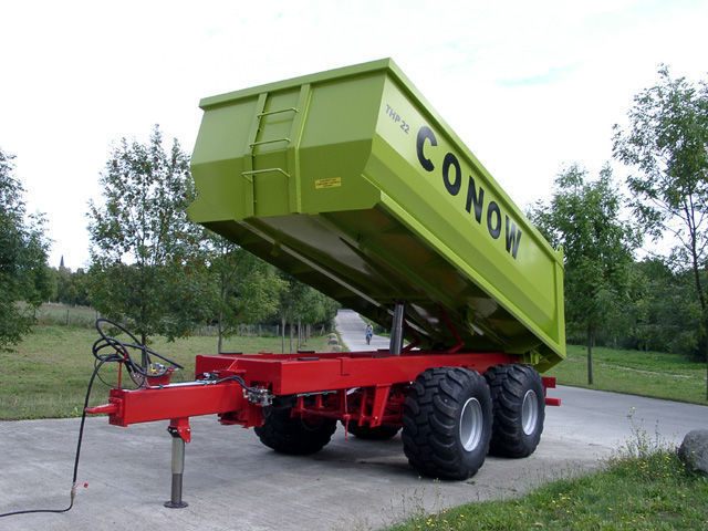 new CONOW THP 22 tipper trailer