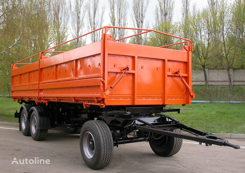 new KAMAZ SZAP-8538-01 tipper trailer