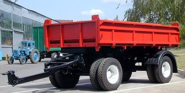 new KAMAZ SZAP-8543 tipper trailer