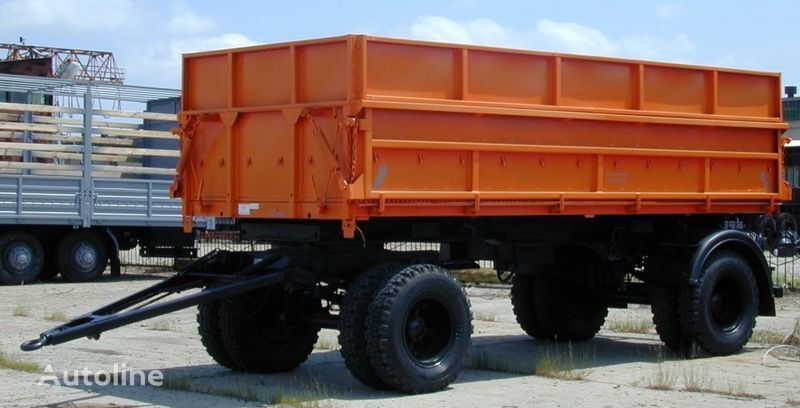 new KAMAZ SZAP-8551-02 tipper trailer