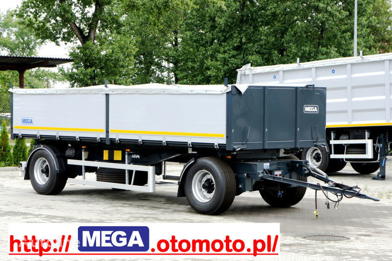 new MEGA 3 x way dump / 2 axel / alu bort / grainhole tipper trailer