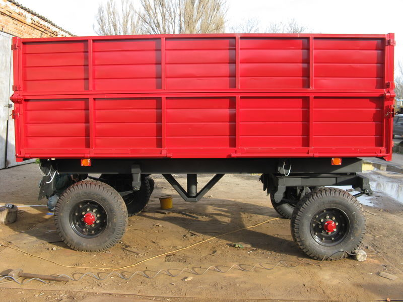 new PSE 2PTS4 tipper trailer