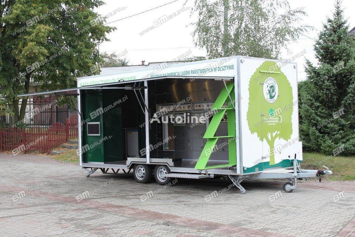 new BMgrupa Przyczepa ekspozycyjna, przyczepa wystawowa vending trailer