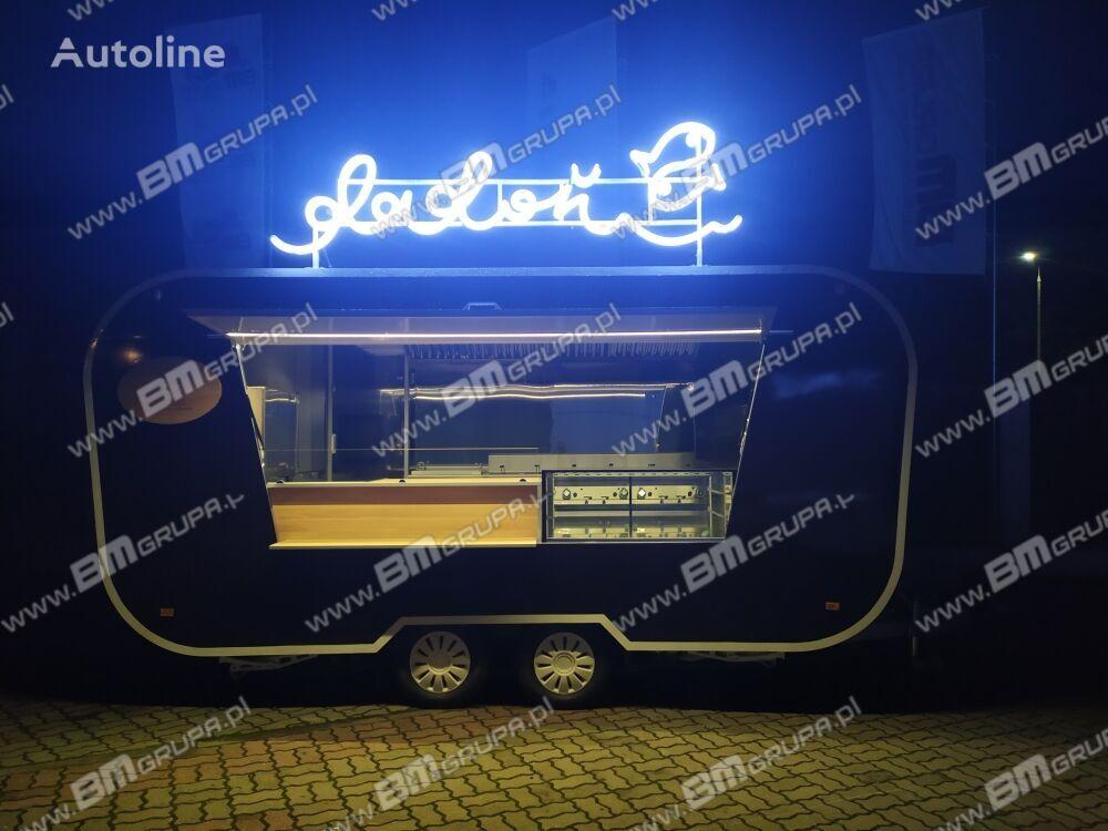 new BODEX Verkaufsanhänger, Przyczepa Imbiss, Przyczepa obła, Przyczepa za vending trailer
