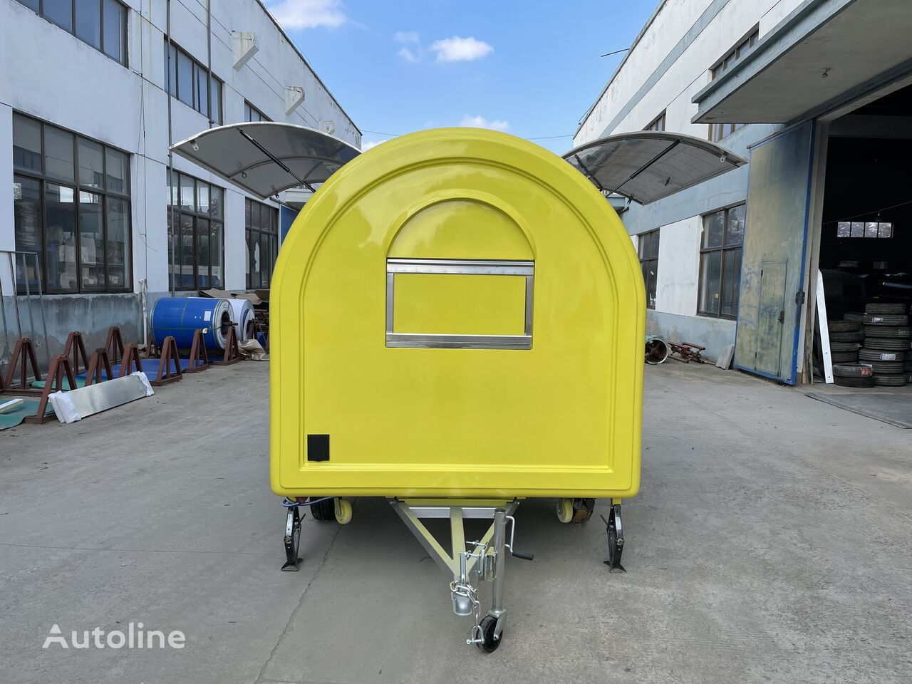 new ERZODA Food Truck / coffee pizza Catering trailer /concession trailer vending trailer