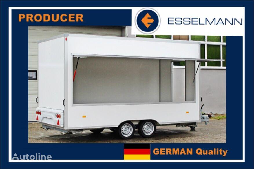 new Esselmann KARELLO 4 przyczepa sprzedażowa handlowa gastronomiczna catering vending trailer