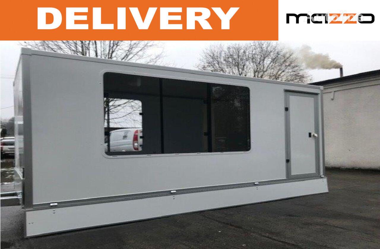 new Kiosk trailer 420x180x190 mm vending trailer