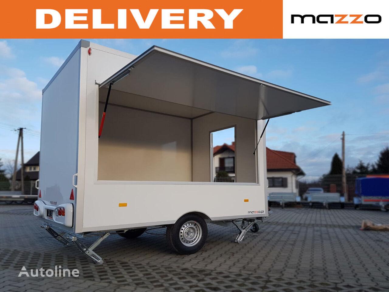 new NIEWIADOW H13301H 3x2.03x2.3m Mobile catering trailer street Verkaufsanhän vending trailer