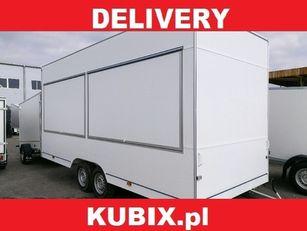 new NIEWIADOW H25522HT Niewiadów two-axle commercial trailer vending trailer