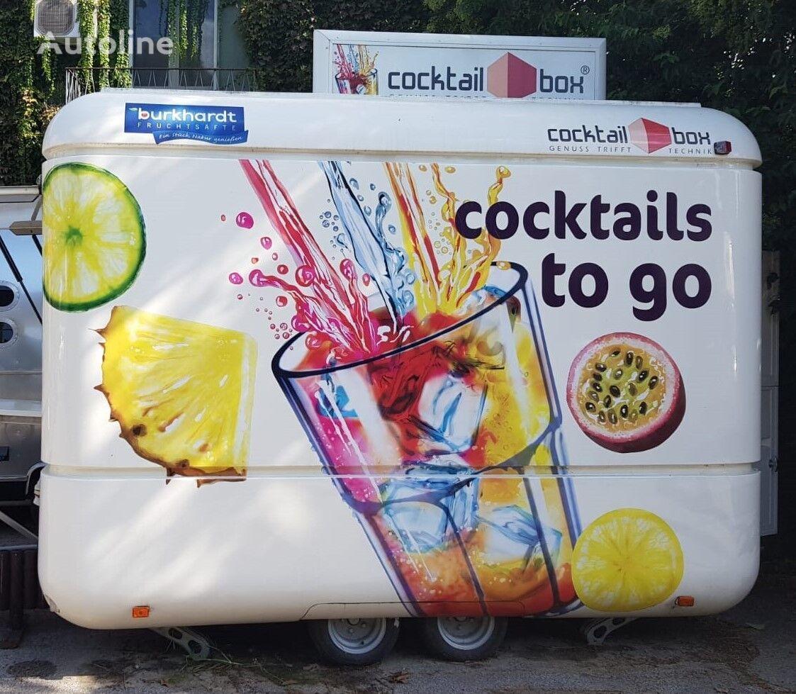 new AIRSTREAM Cocktail Box vending trailer