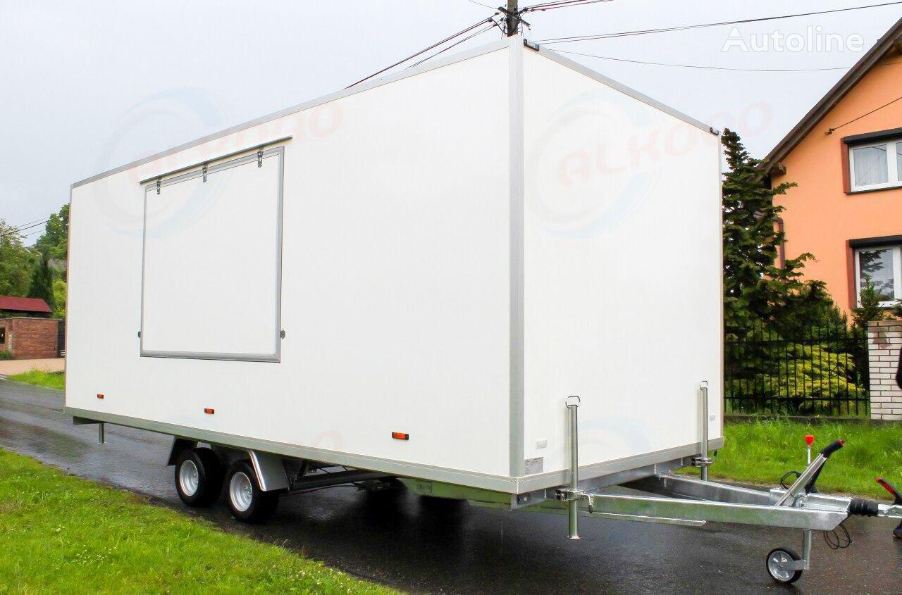 new ALKORO 5m SS2 vending trailer
