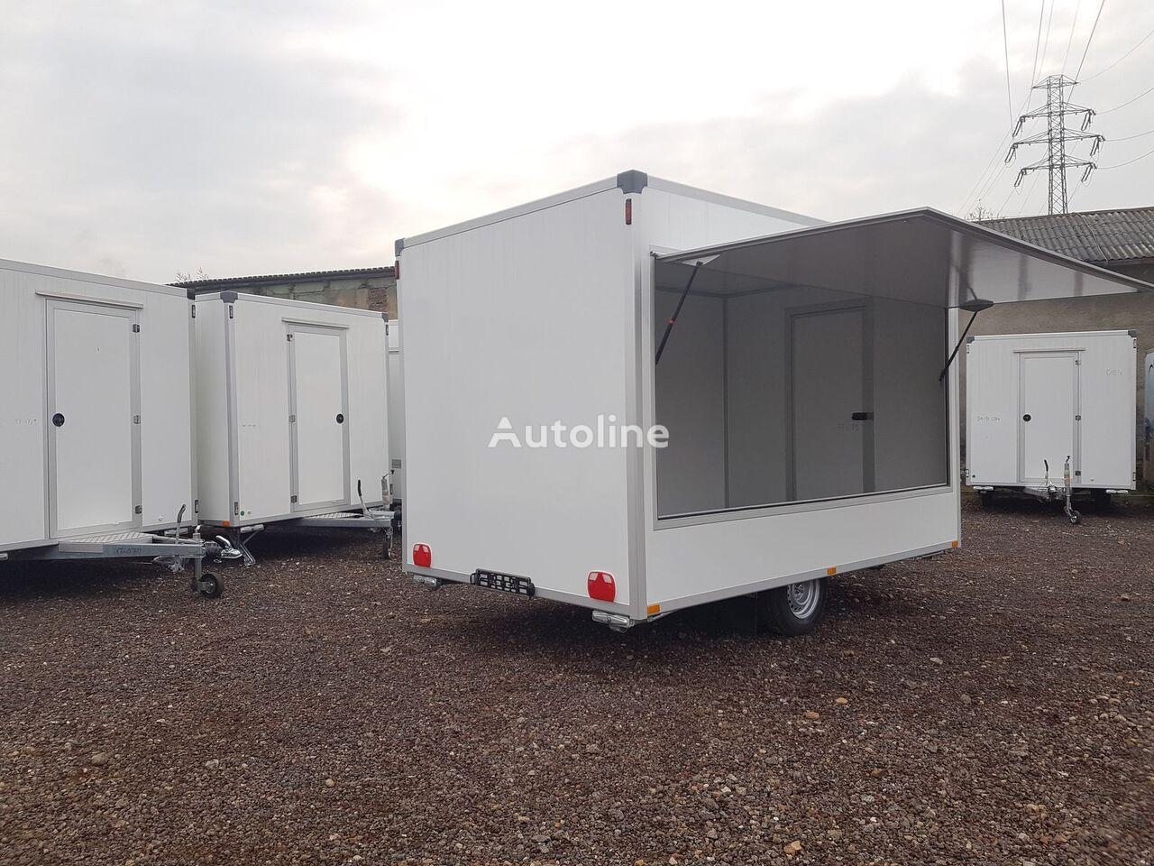 new BANNERT 3,7 / 2,2 / 2,3, jednoosiowa pusta, Ha vending trailer